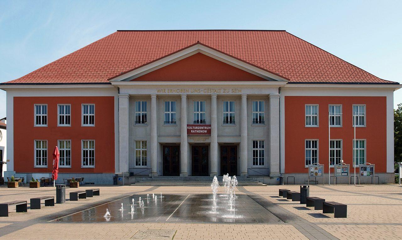 Kulturzentrum in Rathenow - unser Haus