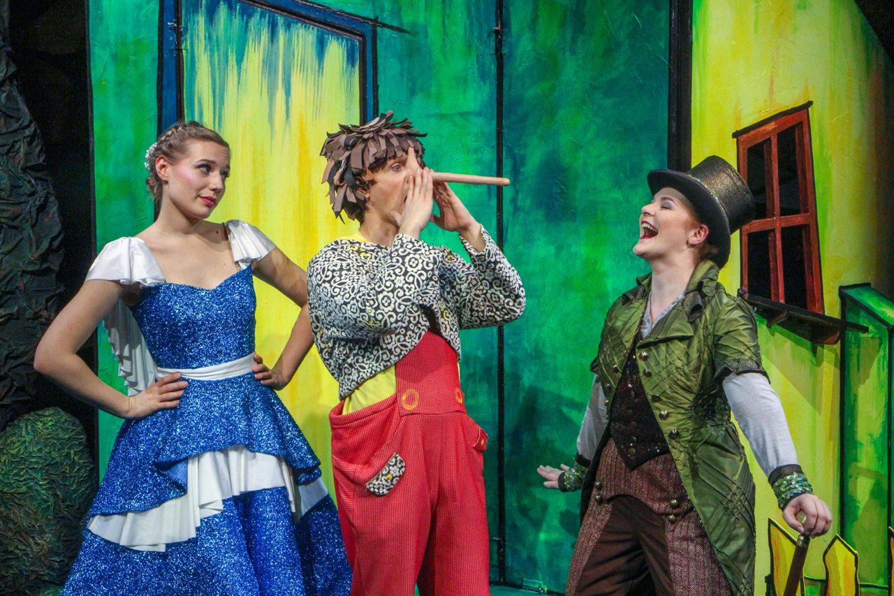 Theatervorstellung Pinocchio in Rathenow
