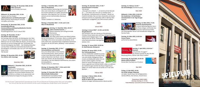 Kulturkalender Kulturzentrum Rathenow 06 2021 2